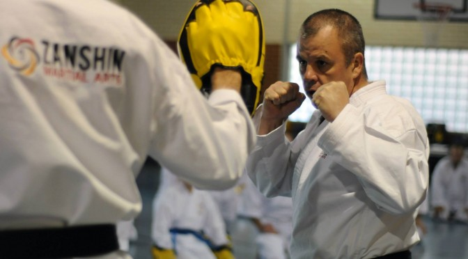 Zanshin Free Sparring Course 2016
