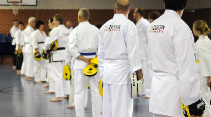 Zanshin Free Sparring Course 2015